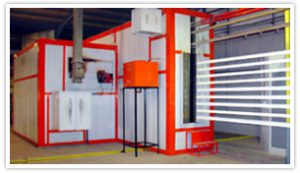 Powder Coating Plant for aluminium profiles installed In Saudi Arabia.