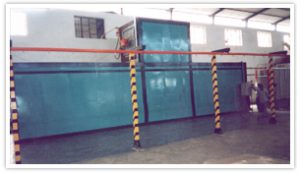 Powder Coating Plant with Gas Fired Oven for furniture