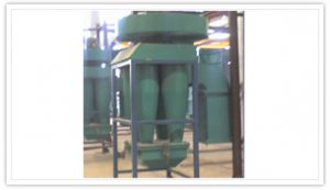 Multicyclone recovery system for Powder Booth.